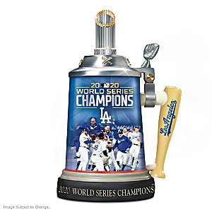 Los Angeles Dodgers 2020 World Series Commemorative Stein