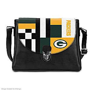 Green Bay Packers Interchangeable Flap Handbag
