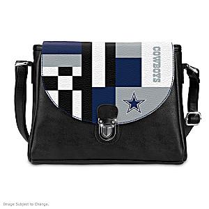 Dallas Cowboys Interchangeable Flap Handbag
