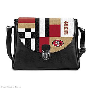 San Francisco 49ers Interchangeable Flap Handbag