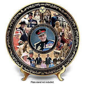 Prince Philip Commemorative Porcelain Collector Plate