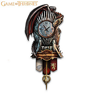 Musical Game Of Thrones Wall Clock
