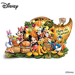 """Disney """"Share The Harvest"""" Illuminated Sculpture"""