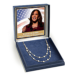 Kamala Harris's Power Pearls-Inspired Perseverance Necklace