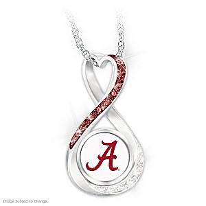 Alabama 2020 Football National Champions Infinity Pendant