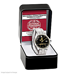 2020 Football National Champions Alabama Commemorative Watch