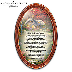 "Thomas Kinkade ""We're All In This Together"" Framed Print"