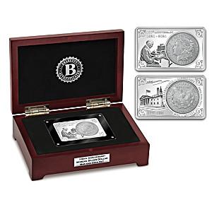 100th Anniversary 1921 Morgan Dollar Minted Bar And Coin Set
