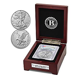 New Design: 2021 Type 2 American Eagle Silver Dollar Coin