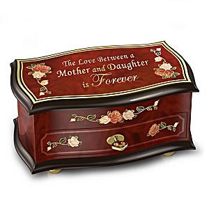 """""""Love Forever"""" Spinning Ballerina Music Box For Daughter"""