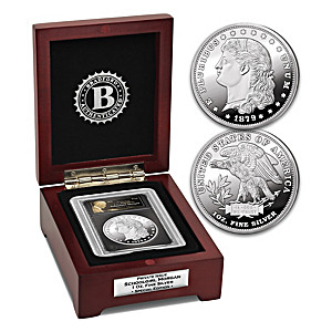 The Schoolgirl Morgan Silver Tribute Coin And Display Box