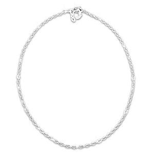 """""""Sparkle 'N' Style"""" Link Necklace: Wear It 3 Ways"""
