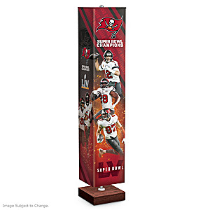 Tampa Bay Buccaneers Super Bowl LV Four-Sided Floor Lamp