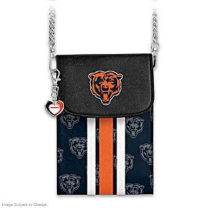 Bears Crossbody Cell Phone Bag With Logo Charm