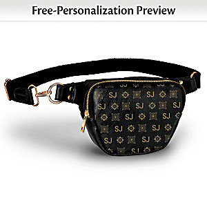 """""""Just My Style"""" Belt Bag Personalized With Your Initials"""