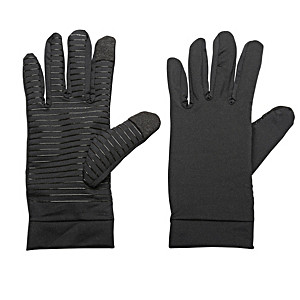 Antimicrobial Touchscreen Gloves With Gentle Compression