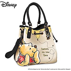 "Disney Winnie The Pooh ""Sweet As Can Be"" Handbag"