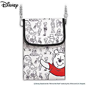 Disney Winnie The Pooh Crossbody Cell Phone Bag