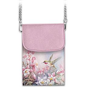 "Lena Liu ""Floral Enchantment"" Crossbody Cell Phone Bag"