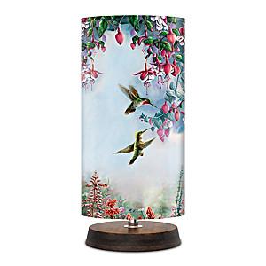 """Wanda Mumm """"Jewels Of The Garden"""" Table Lamp"""