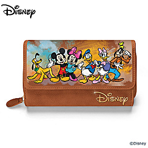 "Disney ""Masterpiece Of Magic"" Designer-Style Trifold Wallet"