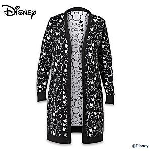 """Disney """"All Ears"""" 100% Cotton Women's Sweater"""