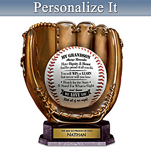Grandson, Always Remember Personalized Sculpture