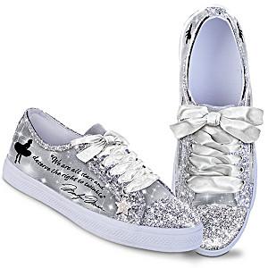 """Marilyn Monroe"" Ever-Sparkle Glitter Sneakers"