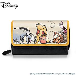 Disney Winnie The Pooh Women's Trifold Wallet