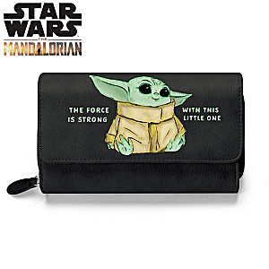 The Mandalorian The Child Trifold Wallet