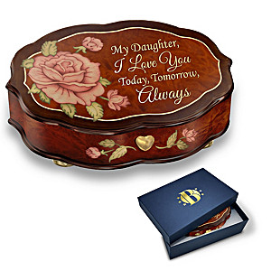 """""""Love You Always"""" Swiss-Inspired Music Box For Daughter"""