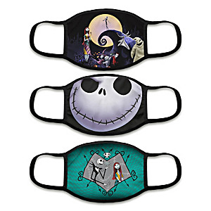 """3 """"Frightfully Delightful"""" Face Masks With Character Artwork"""