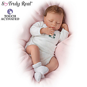 "So Truly Real ""Breathing"" Lifelike Ashley Baby Doll"