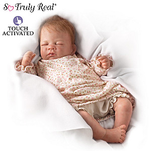 """Hush, Little Baby"" Lifelike Breathing Doll"