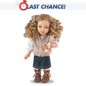 Dianna Effner Olivia Child Doll In Australian-Style Outfit