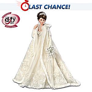 "DOTY Award-Winning ""Touch Of Elegance"" Porcelain Bride Doll"