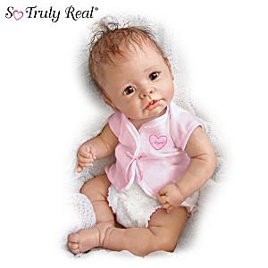 Linda Murray Lifelike Baby Girl Doll: Little Angel