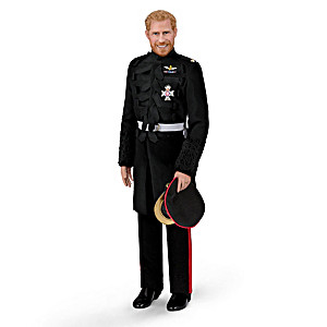 The Prince Harry Royal Wedding Porcelain Groom Doll