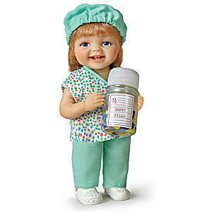 Be Nice, I'm in Charge of the Happy Pills Child Doll