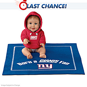 Born A Giants Fan Baby Doll