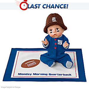 Monday Morning Quarterback New York Giants Baby Doll