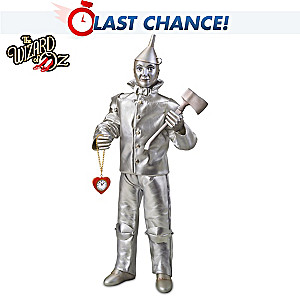 The Wizard Of Oz Tin Man Singing Collector Doll