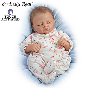 Sophia Baby Doll Breathes, Coos And Has A Heartbeat