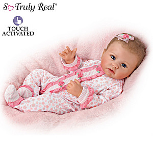 Katie Baby Doll Breathes, Coos And Has A Heartbeat