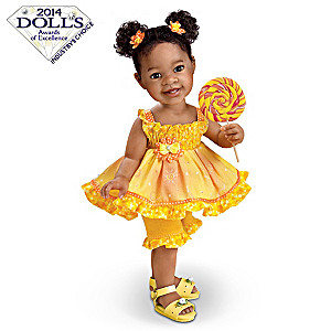 "Jane Bradbury ""Sunshine And Lollipops"" Child Doll"