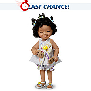 "Jane Bradbury ""What Little Girls Are Made Of"" Child Doll"