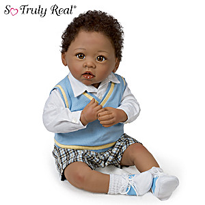 Linda Murray Fully Poseable Lifelike Baby Boy Doll: Michael