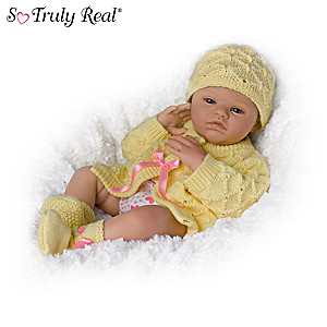 "Marissa May ""Lily Charlotte"" Poseable Baby Doll"