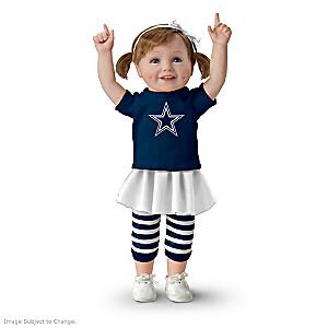 NFL-Licensed Dallas Cowboys Fan Girl Doll
