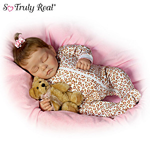 Sweet Dreams Ellie Baby Girl Doll By Artist Kellie Beckett